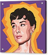 Audrey Acrylic Print by Douglas Simonson
