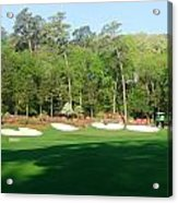 Augusta National - Amen Corner Acrylic Print by Bo  Watson