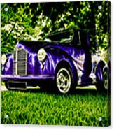 Austin Hot Rod Acrylic Print by motography aka Phil Clark