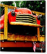 Austin Texas - Maria's Taco Express - Luther Fine Art Acrylic Print by Luther   Fine Art