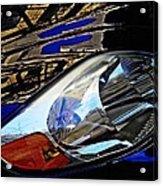 Auto Headlight 113 Acrylic Print by Sarah Loft