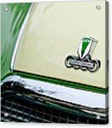 Auto Union Dkw Hood Emblem Acrylic Print by Jill Reger