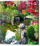 Autumn Dream Acrylic Print by Carol Groenen