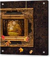 Autumn Frame Acrylic Print by Amanda And Christopher Elwell