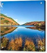 Autumn Lake Acrylic Print by Adrian Evans