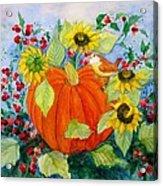 Autumn Acrylic Print by Laura Nance