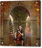 Autumn Melody Acrylic Print by Bedros Awak