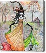 Autumn Reverie Acrylic Print by Molly Harrison