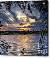 Autumn Sky Acrylic Print by Stelios Kleanthous