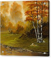 Autumn Splendor Acrylic Print by C Steele