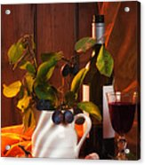 Autumn Still Life Acrylic Print by Amanda And Christopher Elwell