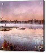 Autumns Light Acrylic Print by Darren Fisher