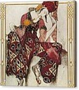 Bakst, Léon 1866-1924. La Péri. 1911 Acrylic Print by Everett