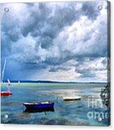 Balaton Lake Acrylic Print by Odon Czintos