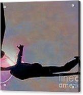 Ballerina On Point Acrylic Print by Tom Gari Gallery-Three-Photography
