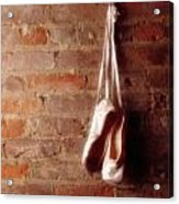 Ballet On Brick Acrylic Print by Jon Neidert
