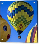 Ballooning Acrylic Print by Garry Gay