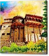 Baltit Fort Acrylic Print by Catf