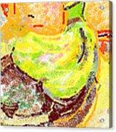 Bananas From Paphos 2 Acrylic Print by Anita Dale Livaditis