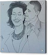 Bandmo Acrylic Print by DMo Her