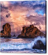 Bandon Beauty Acrylic Print by Darren  White