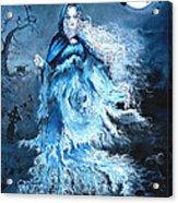 Banshee Acrylic Print by Tomas OMaoldomhnaigh