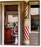 Barber - I Need A Hair Cut Acrylic Print by Mike Savad