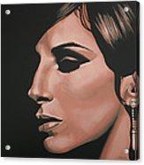 Barbra Streisand Acrylic Print by Paul Meijering
