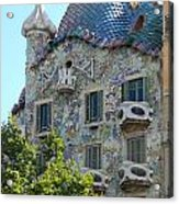 Barcelona Spain Acrylic Print by Gregory Dyer