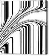 Barcode II  C2014 Acrylic Print by Paul Ashby