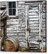 Barn Door Acrylic Print by Armando Picciotto