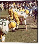 Bart Starr  Acrylic Print by Retro Images Archive