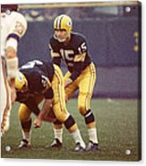 Bart Starr Vs. Vikings Acrylic Print by Retro Images Archive
