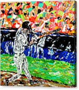 Bases Loaded  Acrylic Print by Mark Moore