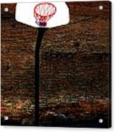 Basketball Acrylic Print by Lane Erickson