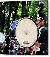 Bass Drums On Parade Acrylic Print by Susan Savad