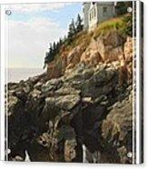 Bass Harbor Head Lighthouse Acrylic Print by Mike McGlothlen