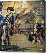 Bastille Metro No 1 Acrylic Print by A Morddel