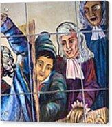 Bastille Metro No 2 Acrylic Print by A Morddel