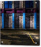 Bates Mill  Morning Light Acrylic Print by Bob Orsillo