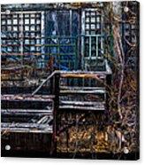 Bates Mill No 5 Acrylic Print by Bob Orsillo