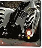 Batmobile 2 Acrylic Print by Cathy Smith