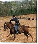 Battle Of Franklin - 4 Acrylic Print by Kae Cheatham