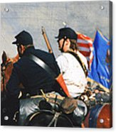 Battle Of Franklin - 2 Acrylic Print by Kae Cheatham