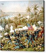 Battle Of Qusimas Acrylic Print by Kurz and Allison