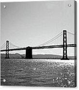 Bay Bridge Acrylic Print by Rona Black