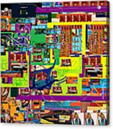 be a good friend to those who fear Hashem 15 Acrylic Print by David Baruch Wolk