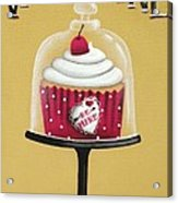 Be Mine Valentine Acrylic Print by Catherine Holman