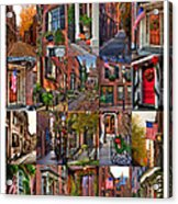 Beacon Hill - Poster Acrylic Print by Joann Vitali