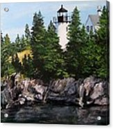 Bear Island Lighthouse Acrylic Print by Jack Skinner